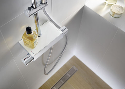 Shelf Shower Mixers
